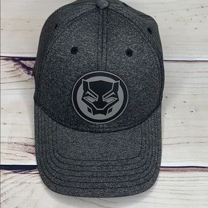 MARVEL Black Panther Curved Rim Cap. One Size.